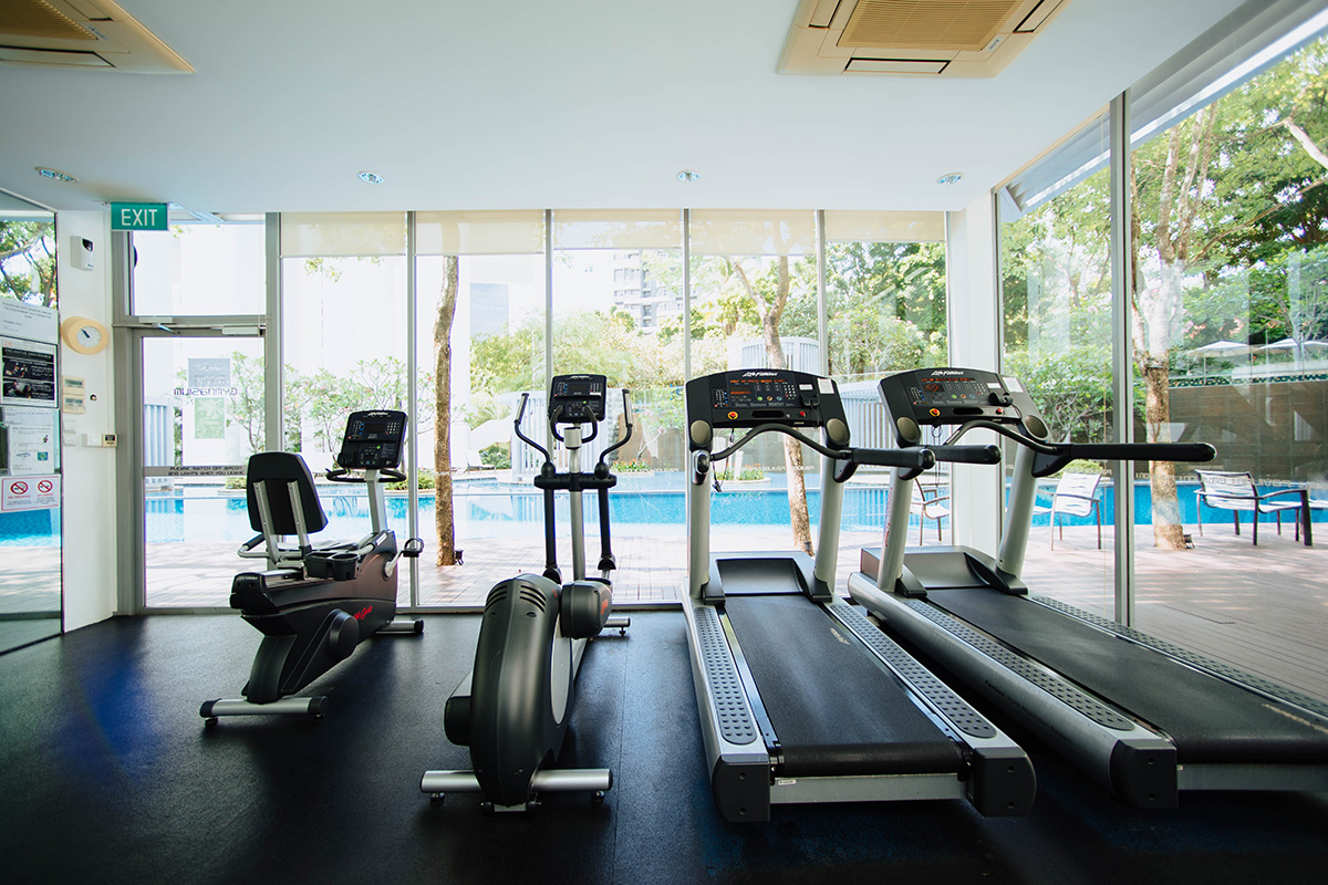 make the most of an apartment or hotel gym
