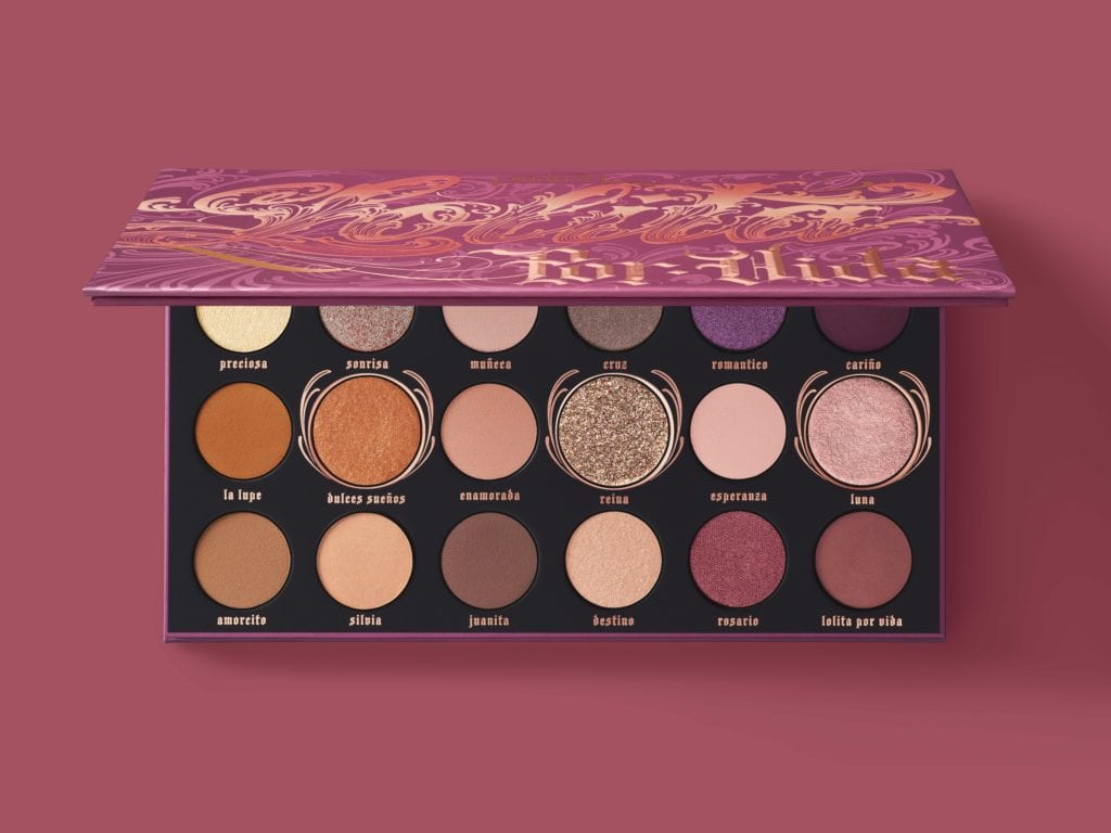 Kat Von D Beauty Lolita Por Vida Eyeshadow Palette holiday beauty