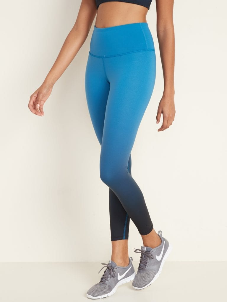 High-Rise Elevate 7/8-Length Ombré Leggings