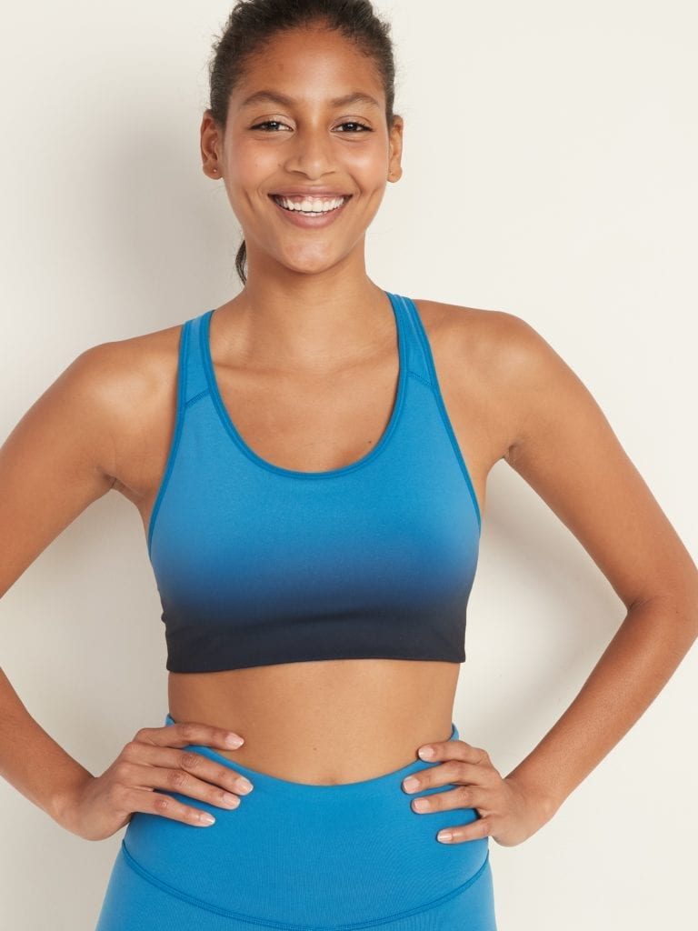 Old Navy ombre sports bra
