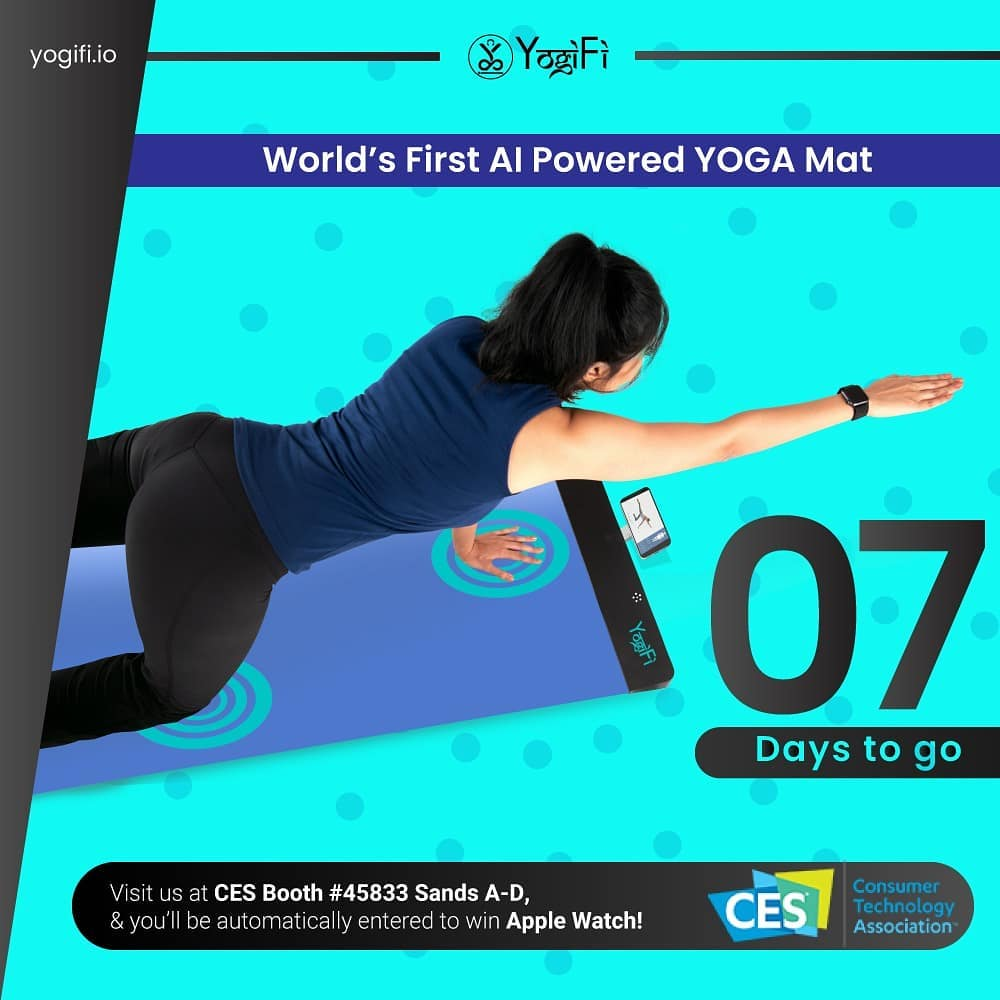 YogiFi AI Powered Yoga Mat