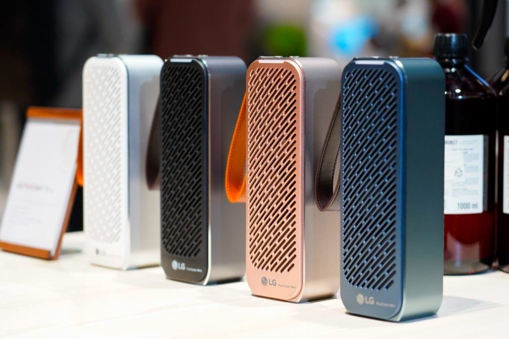 LG PuriCare Mini Air Purifier CES