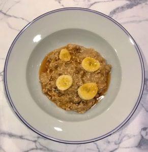 tahini overnight oats