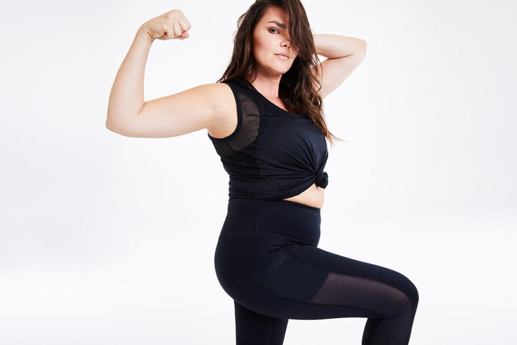 body positive activewear candice Huffine day/won