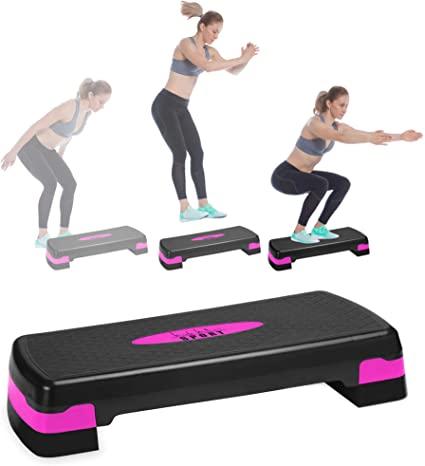 Nicole Miller Aerobic Exercise Step Deck