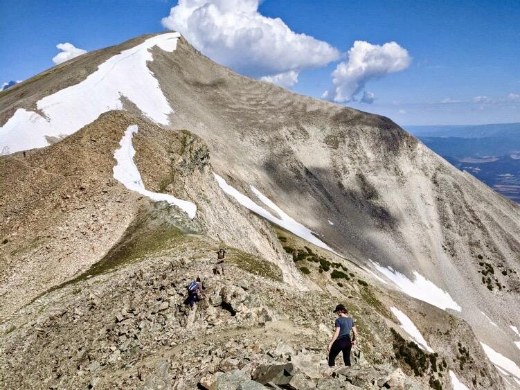 Hiking Mt Sopris