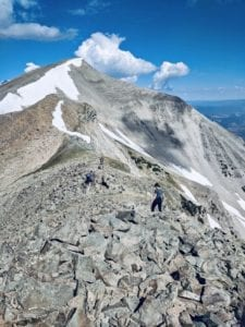 Hiking mount sopris
