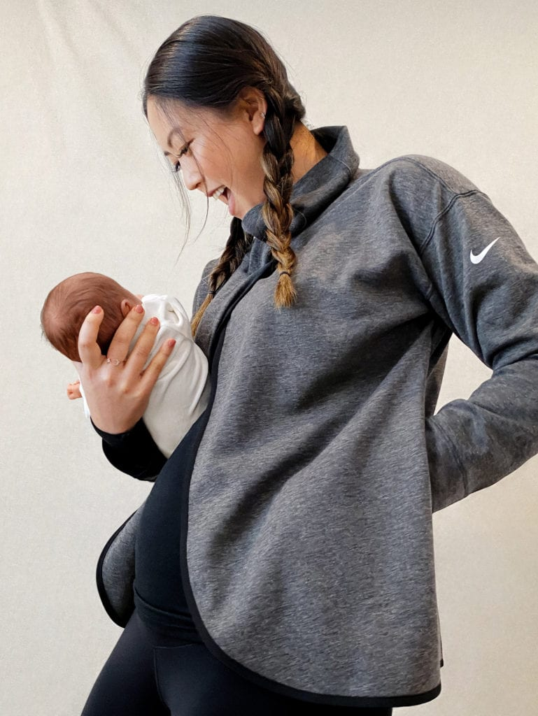 Nike maternity collection pullover