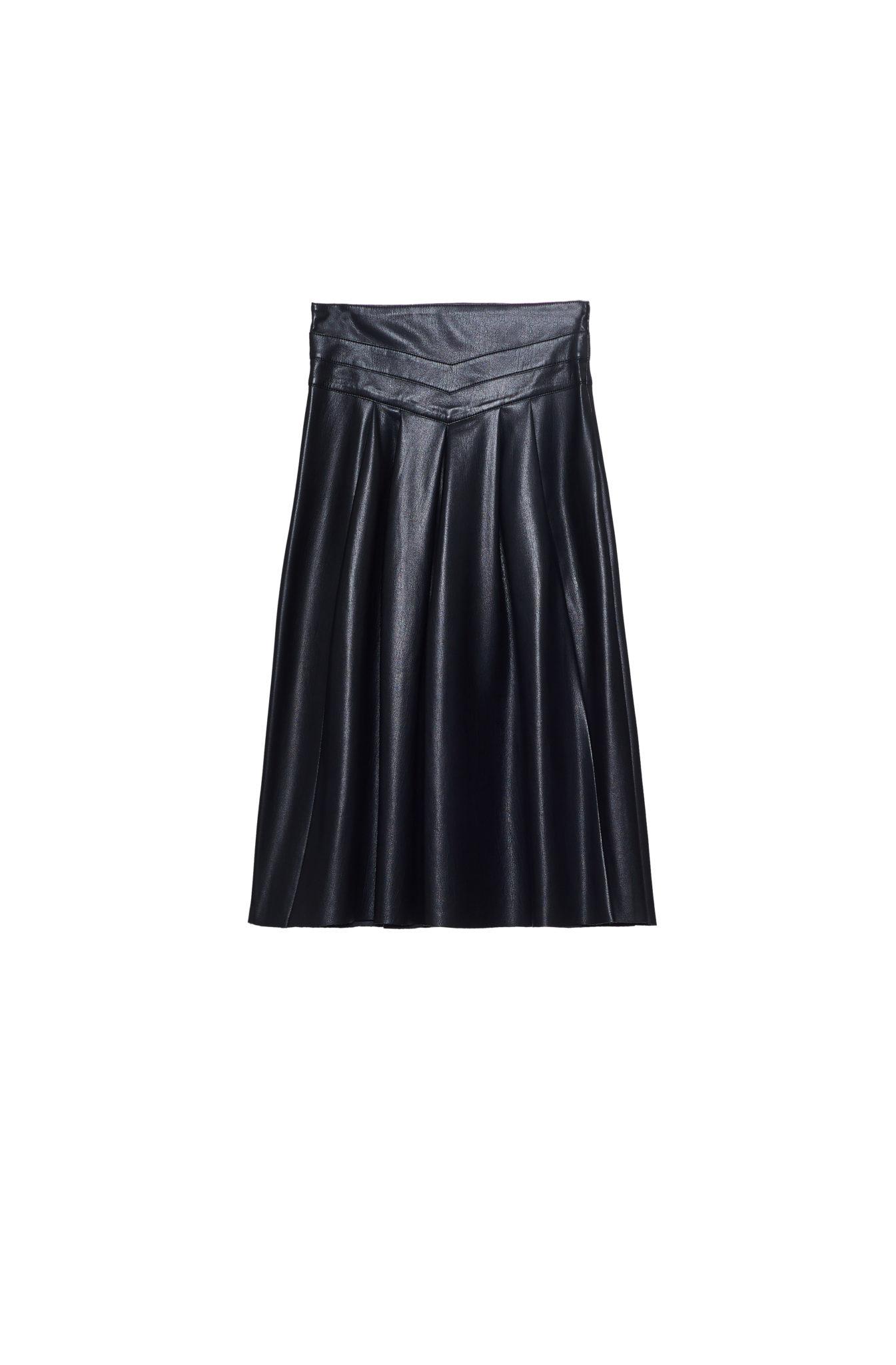 Ordell Vegan Leather Skirt from Joie
