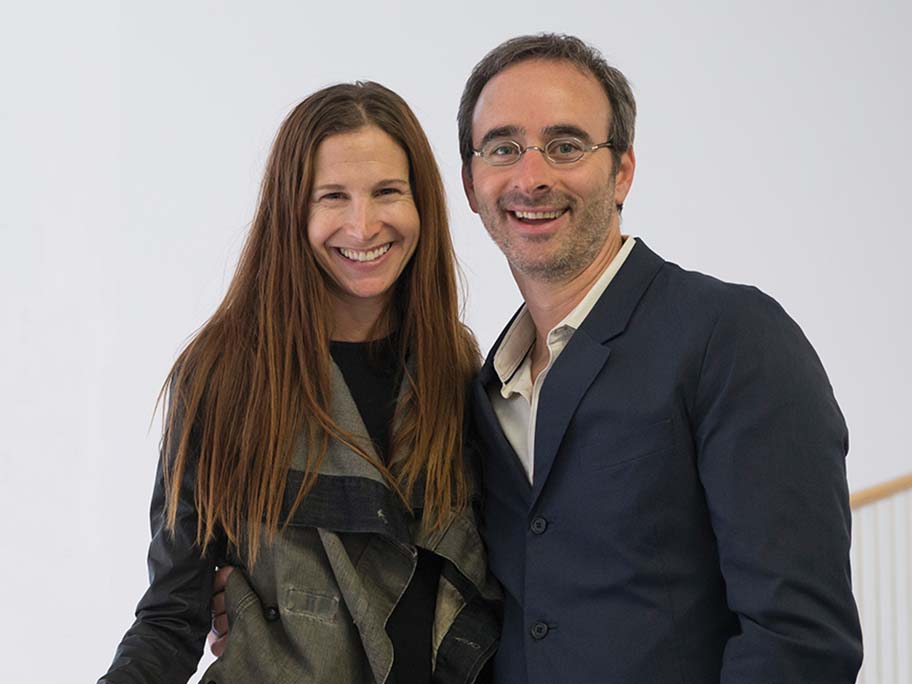 Liz Lefkofsky and her husband, Eric Lefkofsky