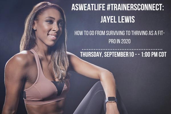 #TrainersConnect Jayel Lewis