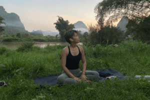 yoga in yangshuo