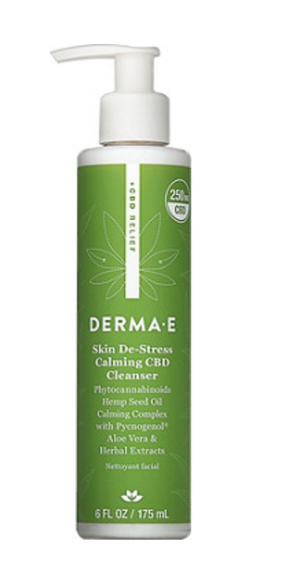 Derma-E Skin De-Stress Calming CBD Cleanser