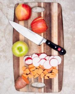 Wusthof six piece knife set classic