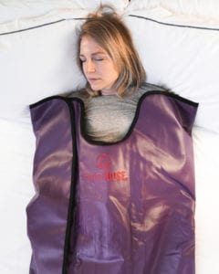 higher dose infrared sauna blanket