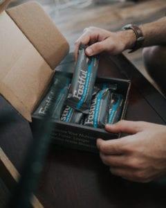 Fastfal bar packaging
