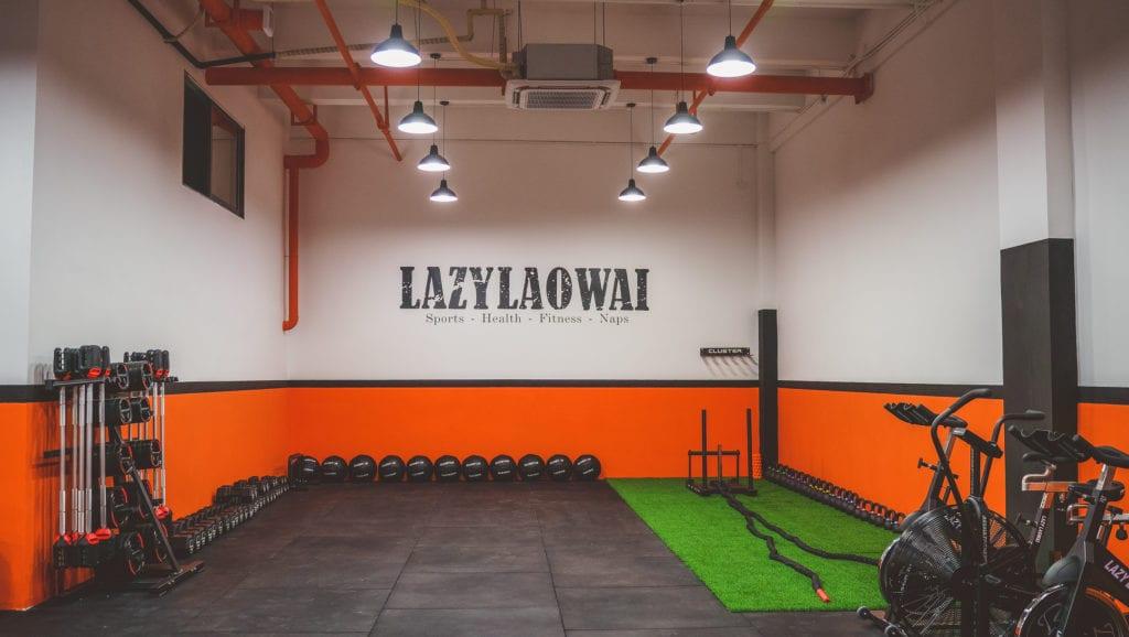 lazy laowai gym