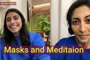 masks and meditation