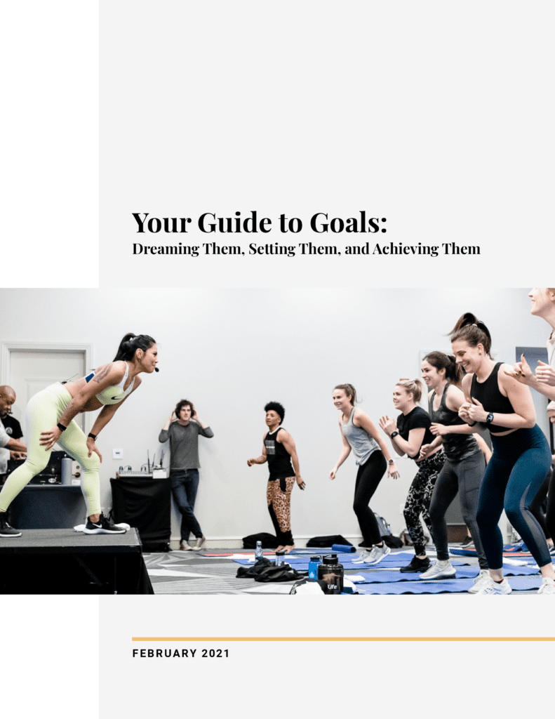 Guide to Goals