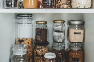 spring clean pantries and cabinets