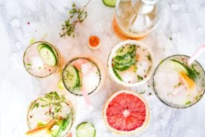 healthy canned cocktails