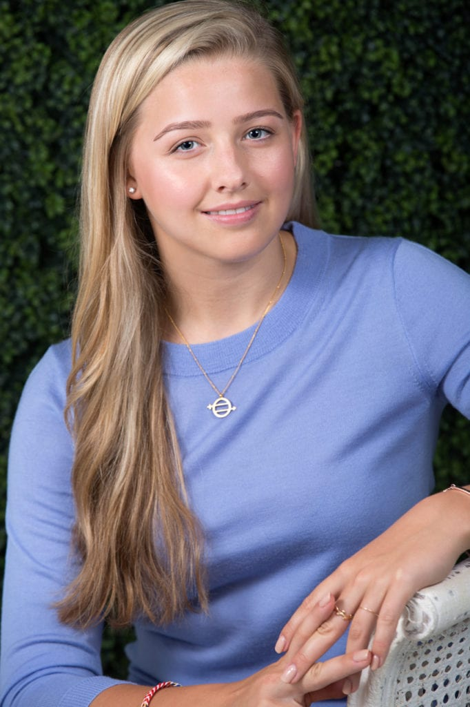 Chessy Prout (she/her), student and co-founder of I Have the Right To