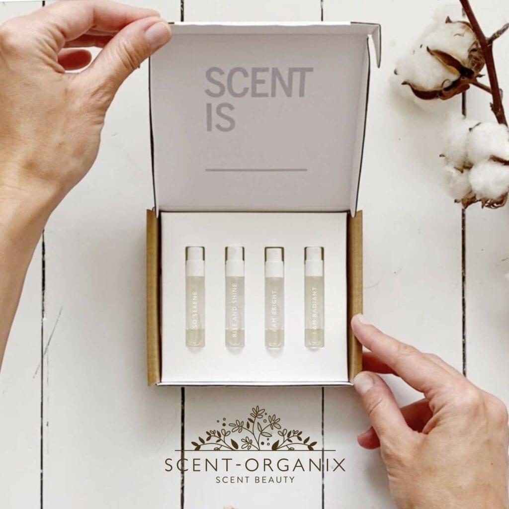 scent organix perfume sampler set