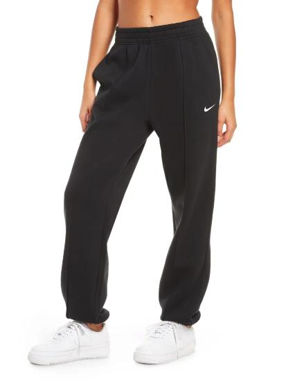 nike sportswear essential fleece pants nordstrom sale 2021