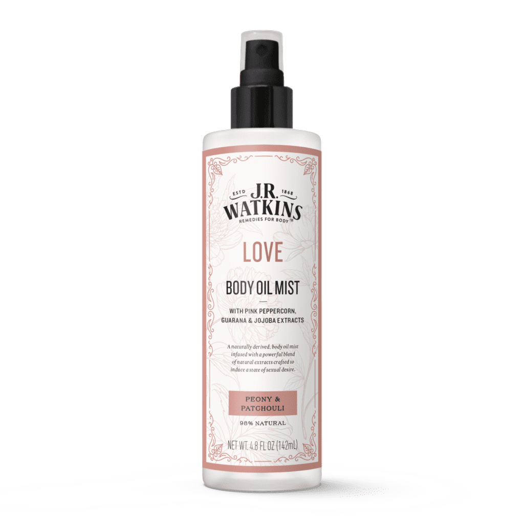 JR Watkins Love Body Oil Mist