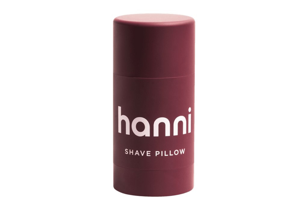 Hanni Shave Pillow fall beauty products