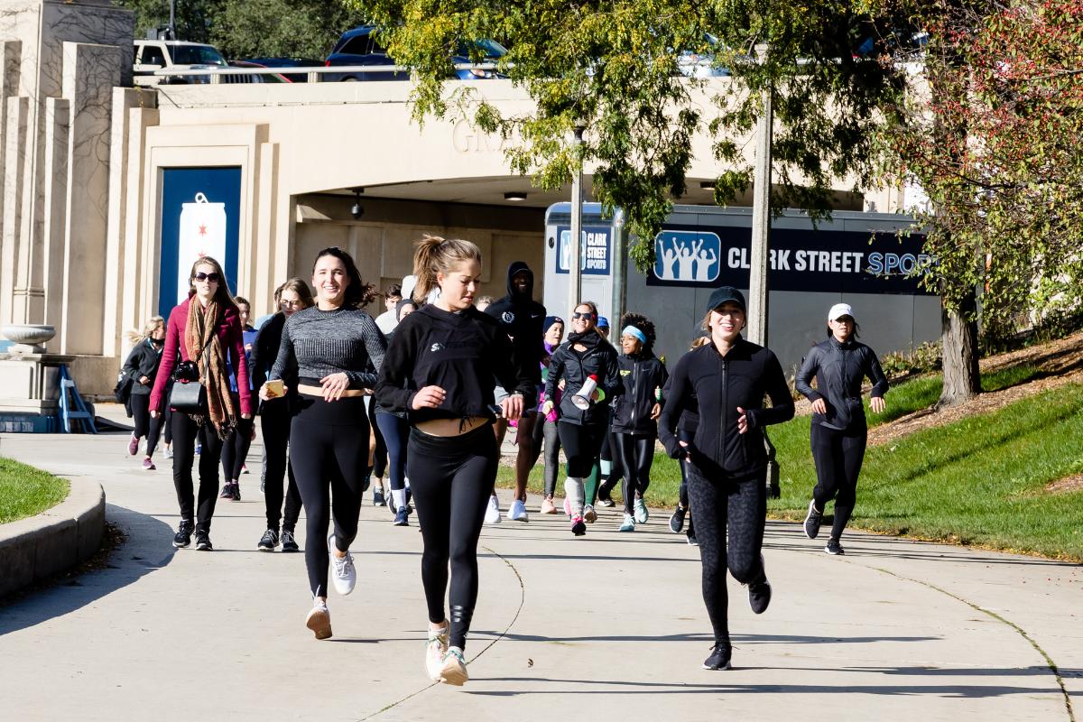 running routine from STRIDE