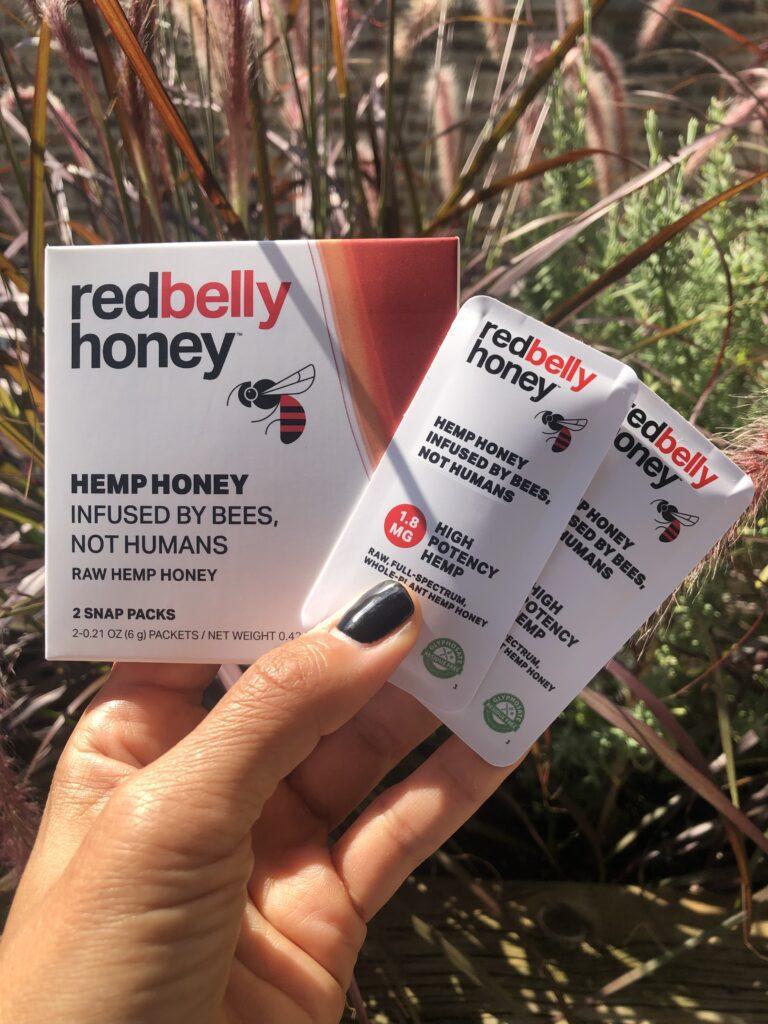 red belly hemp honey