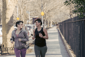 benefits of group running